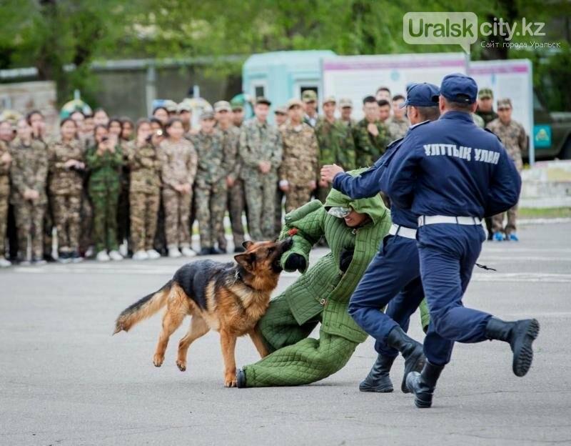 В  Уральске  гвардейцы  с размахом отметили День защитника Отечества, фото-1