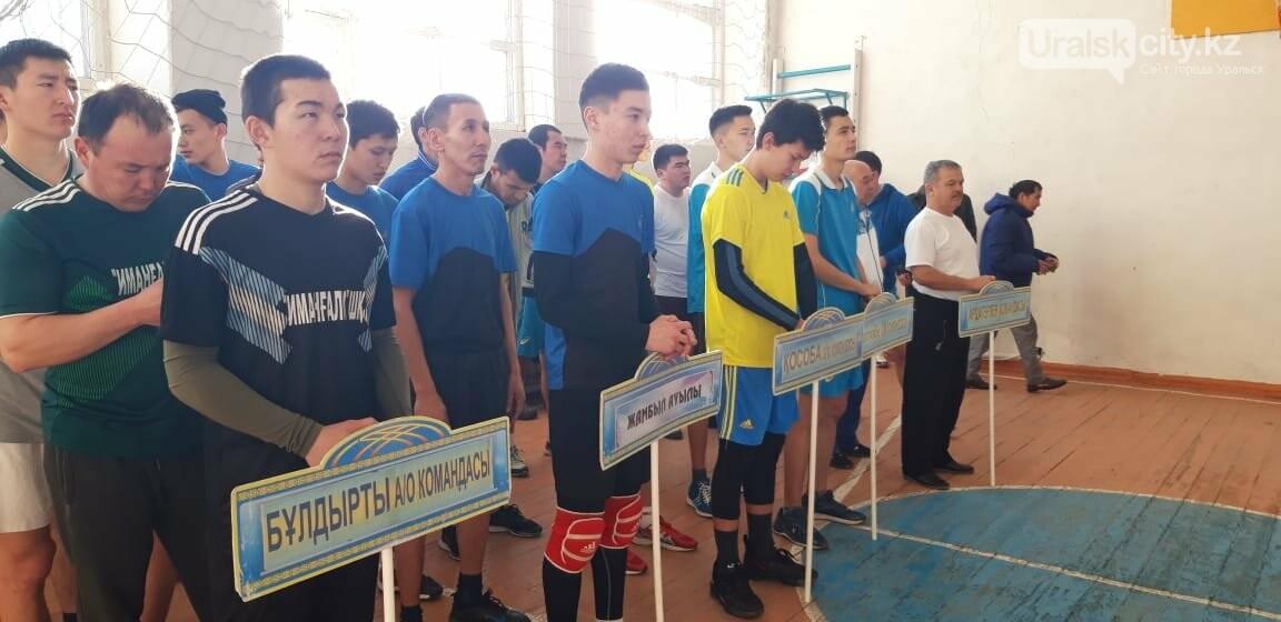 Батыс Қазақстан облысында капитан Мәсәлім еске алуға арналған волейболдан аудандық турнир өтті, фото-1