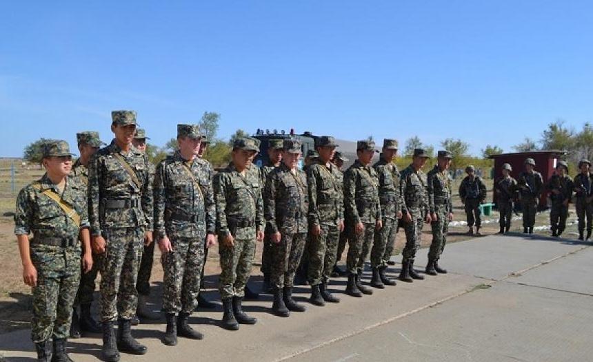 В Уральске гвардейцы прошли итоговую проверку, фото-1
