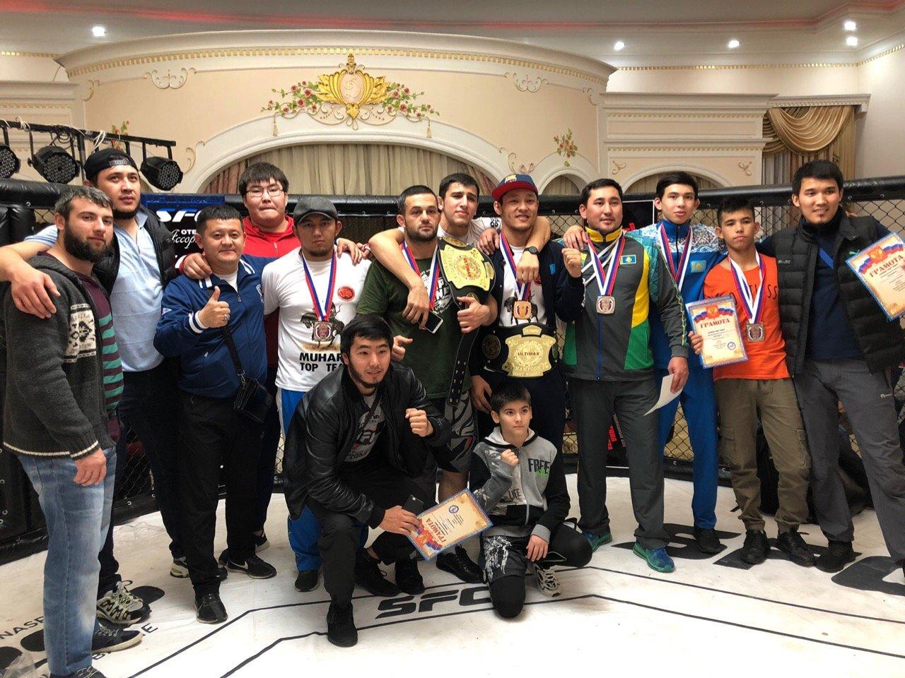 Команда из Уральска заняла призовые места в турнире ММА и Ultimax Fight Night, фото-1